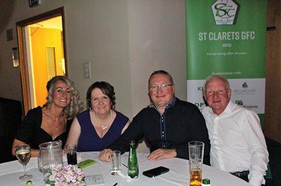 St Clarets Dinner Dance