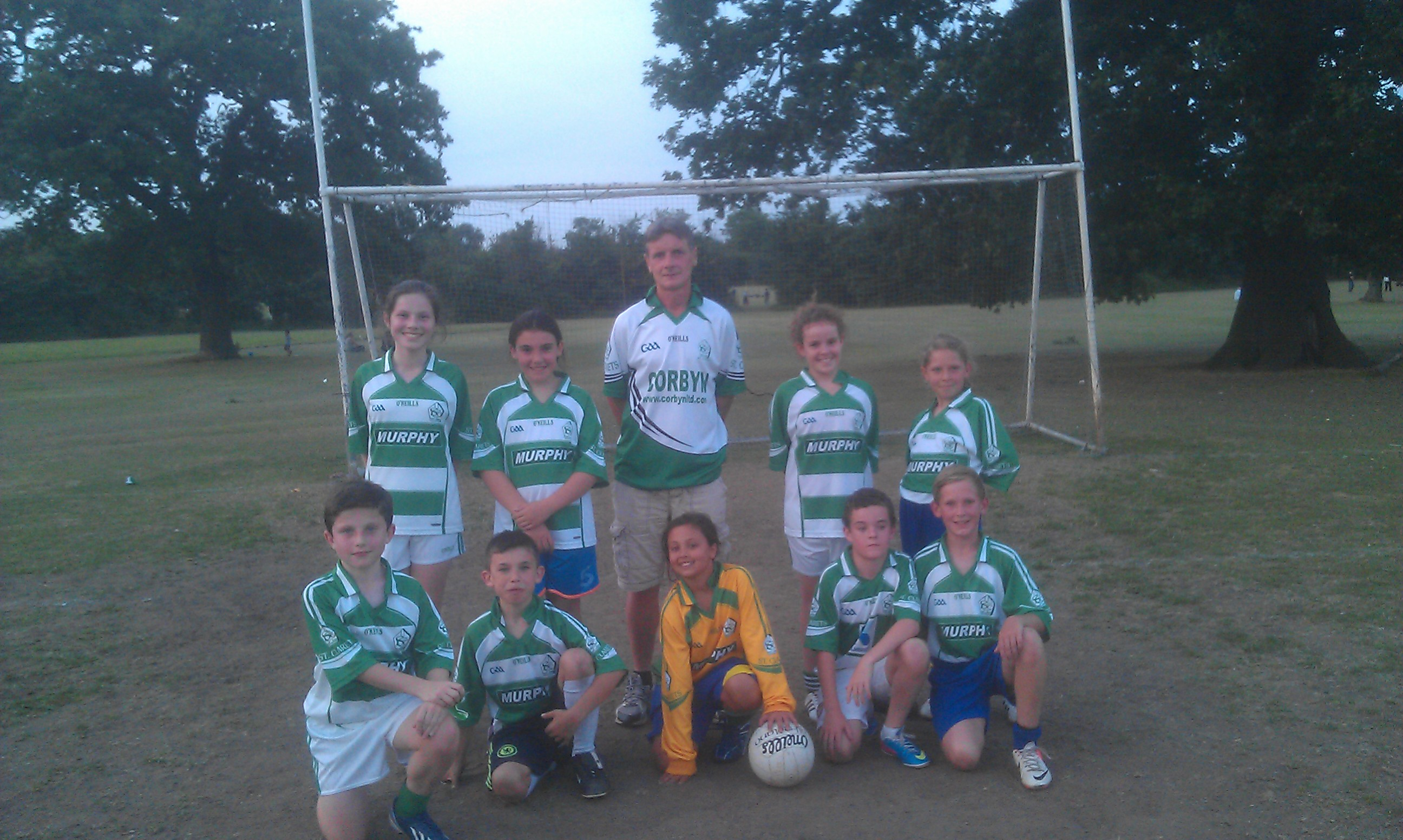 St Clarets Girls Under 12s July 2013